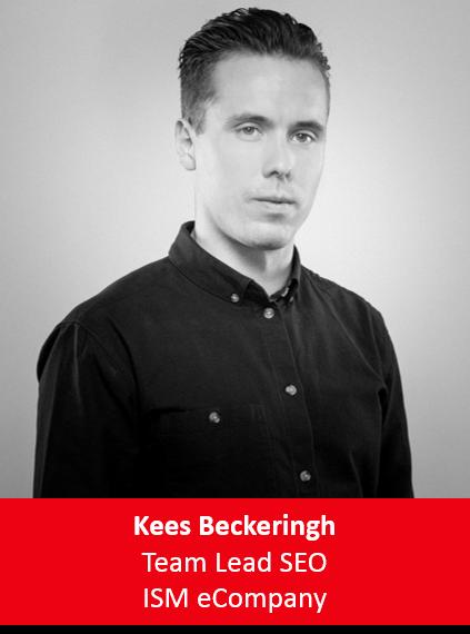 Kees Beckeringh Team Lead SEO